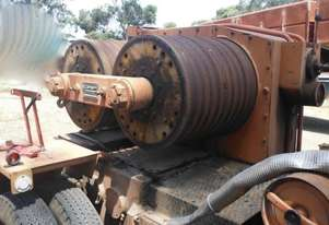 Tesmec POWERFUL HYDRAULIC WINCH