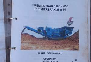 2004 Terex Pegson Mobile Jaw Crusher