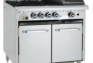 Luus 4 Burner 300mm Griddle & Oven