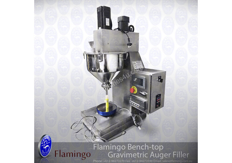 Flamingo Bench-top Gravimetric Auger Filler (EFAFS-B4000G)