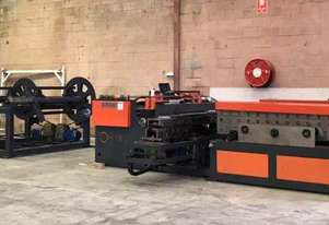 HVAC Complete Auto Duct Line - 1600mm Wide PLC Controlled With Twin Decoiler