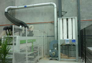 Joinery Dust Filter Collector - Airtight T-500 - 4kW - 4600m3/h