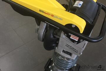 Wacker Neuson BS60-2plus Vibrating Rammer - Never mix fuel again!!