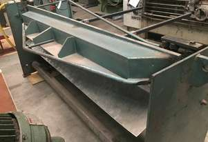 Used 2450mm x 1.6mm Air Operated Guillotine