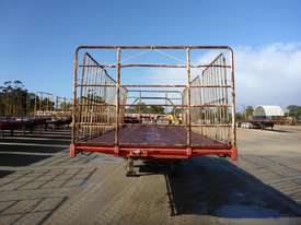 1999 Freightmaster Tri Axle Flat Top A Trailer (L37)  - picture2' - Click to enlarge