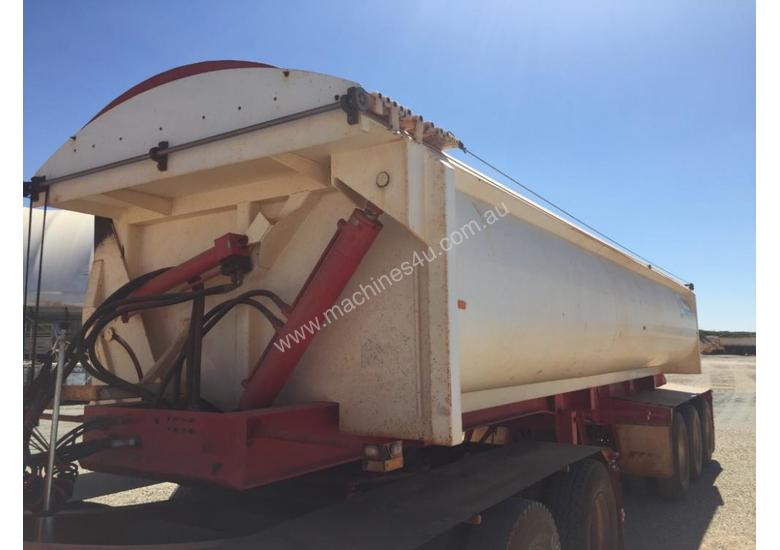 2014 ACTION TRAILERS AYQSY - TRI435 SIDE TIPPER TRAILER