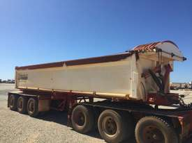 2014 ACTION TRAILERS AYQSY - TRI435 SIDE TIPPER TRAILER - picture0' - Click to enlarge