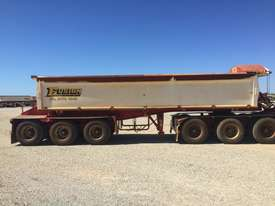 2014 ACTION TRAILERS AYQSY - TRI435 SIDE TIPPER TRAILER - picture1' - Click to enlarge