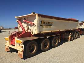 2014 ACTION TRAILERS AYQSY - TRI435 SIDE TIPPER TRAILER - picture2' - Click to enlarge