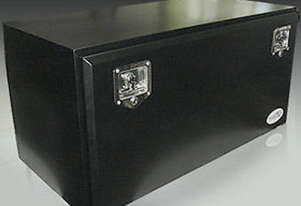 Toolbox Steel Powdercoated Black Truck Tool Box 800x500x500mm TB012
