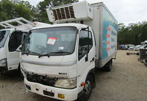 2007 Hino Dutro 616 300 Series Wrecking Stock #1744