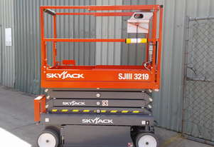 Skyjack Scissor Lift and Trailer