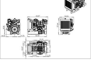 Ford NEW   INDUSTRIAL ENGINE