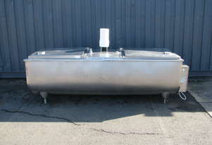 Jacketed Stainless Steel Tank Milk Vat Food Grade - 1300L 3000lbs - Mirra