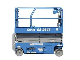 26FT ELECTRIC SCISSOR LIFT GENIE - picture2' - Click to enlarge