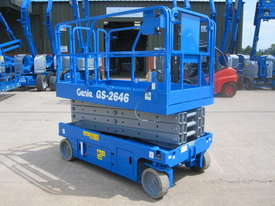 26FT ELECTRIC SCISSOR LIFT GENIE - picture3' - Click to enlarge