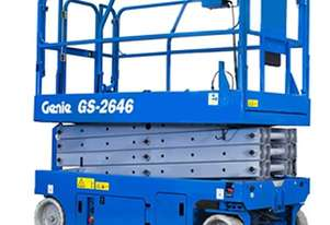26FT ELECTRIC SCISSOR LIFT GENIE