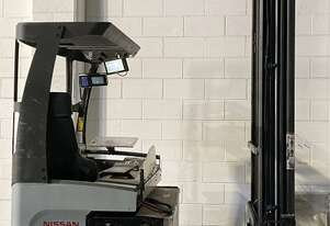 Nissan Ride on Reach Truck