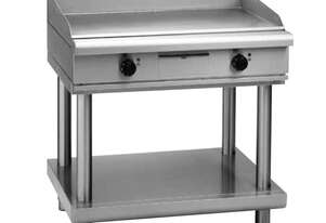 Waldorf 800 Series GPL8900E-LS - 900mm Electric Griddle Low Back Version - Leg Stand
