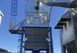 Blue vent Dust Extractor System