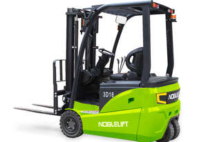Noblelift 3 wheel Electric Counterbalance Forklift - Lithium