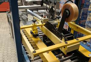 Semi Auto Manual Carton Packer c/w Taper