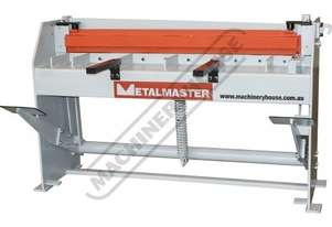 SG-416A Manual Treadle Guillotine 1300 x 1.6mm Mild Steel Shearing Capacity