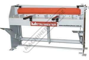 SG-416A Manual Treadle Guillotine 1300 x 1.6mm Mild Steel Shearing Capacity Quality 9CrSi Blade Mate
