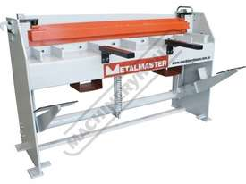 SG-416A Manual Treadle Guillotine 1300 x 1.6mm Mild Steel Shearing Capacity - picture3' - Click to enlarge