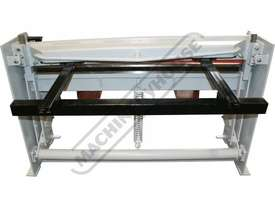SG-416A Manual Treadle Guillotine 1300 x 1.6mm Mild Steel Shearing Capacity - picture4' - Click to enlarge