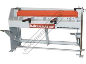 SG-416A Manual Treadle Guillotine 1300 x 1.6mm Mild Steel Shearing Capacity - picture0' - Click to enlarge