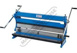 CM-1000 3-in-1 Pressbrake, Guillotine & Rolls 1000 x 1mm Mild Steel Capacity