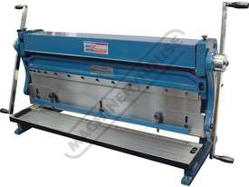 CM-1000 3-in-1 Pressbrake, Guillotine & Rolls 1000 x 1mm Mild Steel Capacity - picture0' - Click to enlarge