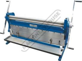 CM-1000 3-in-1 Pressbrake, Guillotine & Rolls 1000 x 1mm Mild Steel Capacity - picture2' - Click to enlarge