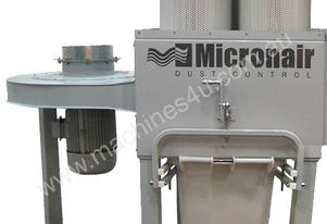 New MICRONAIR EC4S Pleated Filters and Auto Cleaning, discontinued fan 5.5 Kw high pressure w/motor