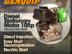 Genquip Diesel Engine - 10 HP Electric Start
