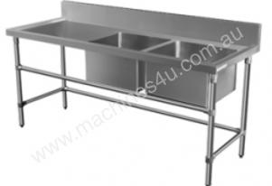 Brayco DS-L Double Bowl Stainless Steel Sink (700m