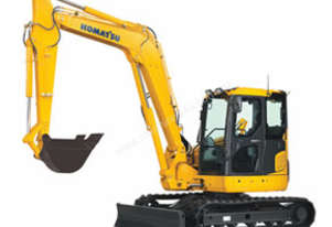 Komatsu PC78MR Tracks by Tufftrac