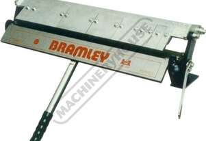 2F Manual Panbrake Folder 610 x 1.2mm Mild Steel Bending Capacity Removable Individual Bending Finge