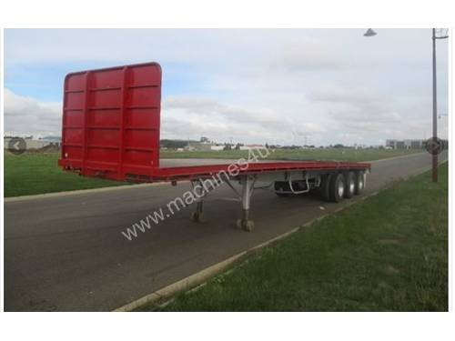 Cheap Flat Top  Axle Dog Trailer For Sale Qld