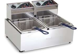 Roband Double Pan Fryer 2 x 5Ltr F25