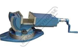 V111 Tilting & Swivel Machine Vice 152mm Jaw Width 155mm Jaw Opening