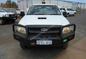 2008 Toyota Hilux 4WD Dual Cab Tray Back