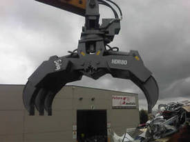 EMBREY HDR80R Hydraulic Rotary Grapple  - picture1' - Click to enlarge