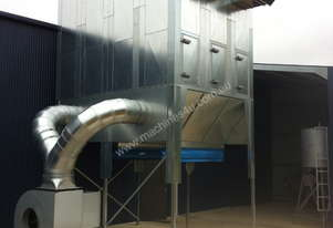 Dust Extraction Reverse Flow Filter Unit ASF6DHLK. Up to 60,000 m3/hr