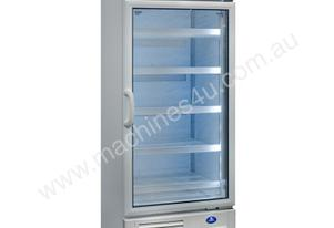 Sanden SDM-0658W Single Glass Door White Cabinet - 504 Litre