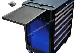 A00057  - Auzgrip 7 DRAWER ROLLER CABINET BLUE
