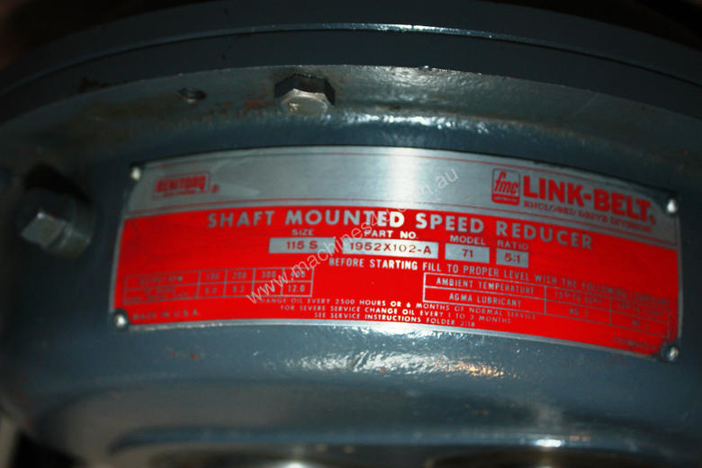 Shaft mounted speed reducer 5:1 Ratio gear box
