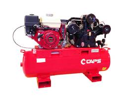 CAPS Petrol Driven Compressor: 14.7cfm With Electr