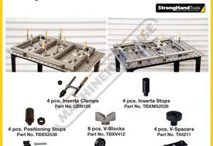 TBHKM300 FixturePoint Welding Table with Square &